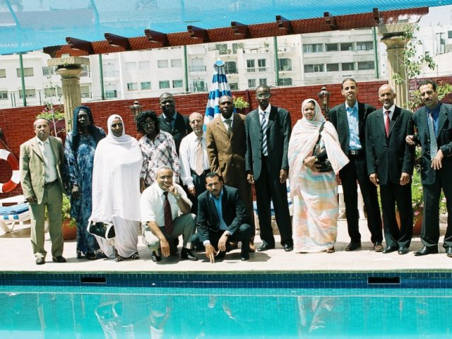 Photo de famille des participants MDS à Casablanca (2009)
